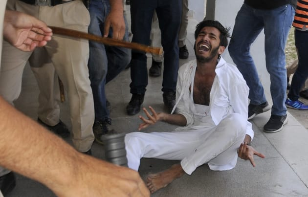 Students, Cops Clash At Panjab University Over Fee Hike Protest