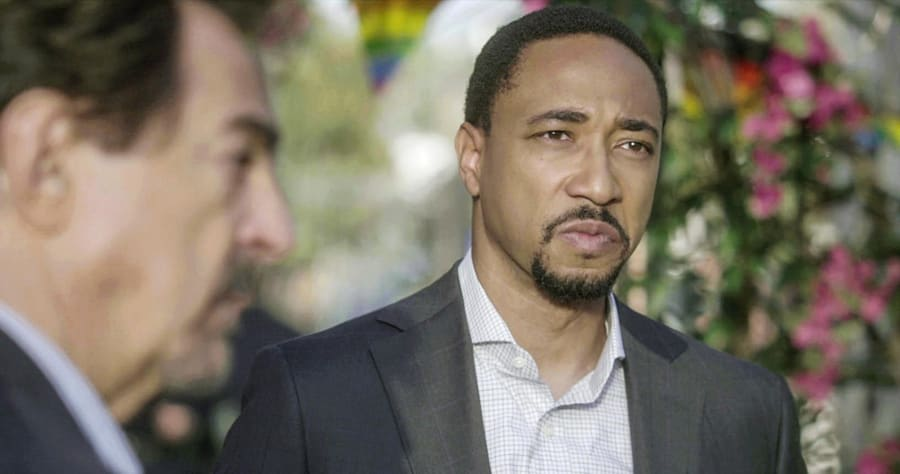 """A Good Husband"" -- The BAU team is called in to investigate when male victims are found with no way to identify them, on CRIMINAL MINDS, Wednesday, Feb. 8 (9:00-10:00 PM, ET/PT) on the CBS Television Network. Pictured: Damon Gupton (Stephen Walker) Photo: CBS ©2017 CBS Broadcasting, Inc. All Rights Reserved"