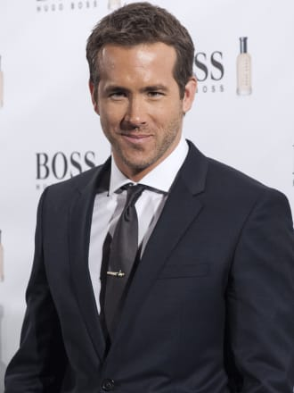 Ryan Reynolds Attends 'Boss Bottled' 15th Anniversary in Madrid