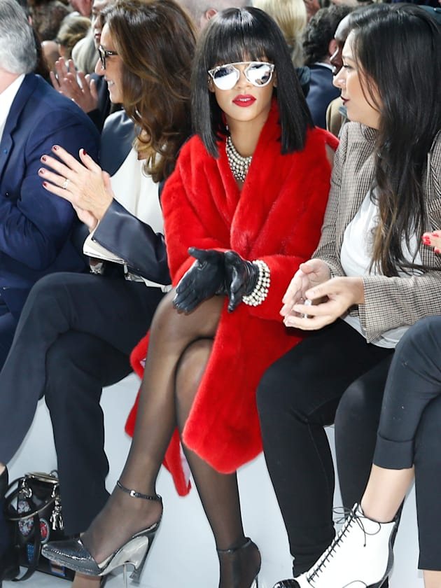 Christian Dior : Front Row - Paris Fashion Week Womenswear Fall/Winter 2014-2015