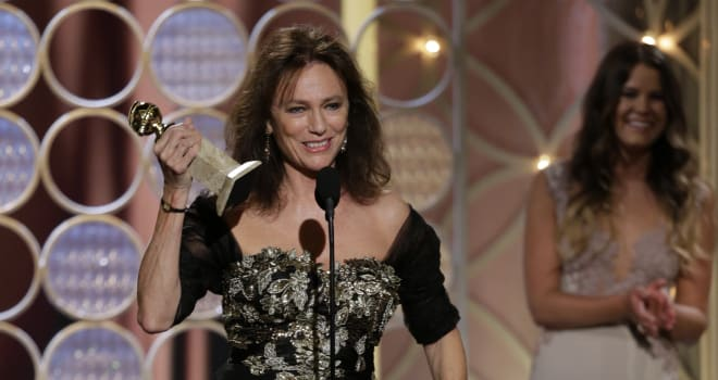 jacqueline bisset golden globes speech 2014