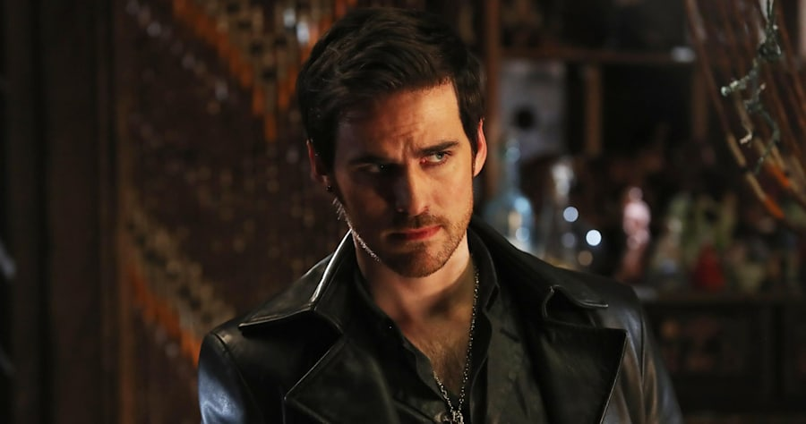 "ONCE UPON A TIME - ""A Wondrous Place"" - When Hook finds himself trapped in another realm along with the Nautilus and her crew, he races to return to Emma before Gideon can execute the rest of his plan. In Storybrooke, Regina and Snow take Emma out to get her mind off Hook's disappearance. And in a flashback to Agrabah, Jasmine befriends Ariel, and together they set out to locate Prince Eric as the threat from Jafar intensifies, on ""Once Upon a Time,"" SUNDAY, APRIL 2 (8:00-9:00 p.m. EDT), on The ABC Television Network. (ABC/Jack Rowand)COLIN O'DONOGHUE"