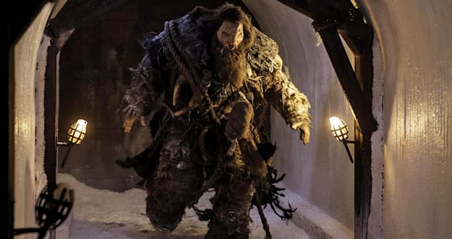 GAME OF THRONES episode 39 (season 4, episode 9): Neil Fingleton. photo: Helen Sloan/courtesy of HBO