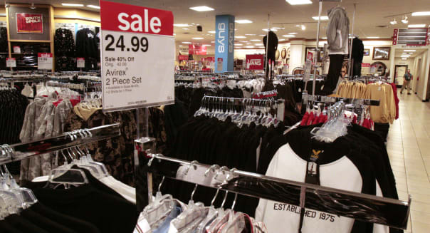 jc penney sale prices savings retail tags
