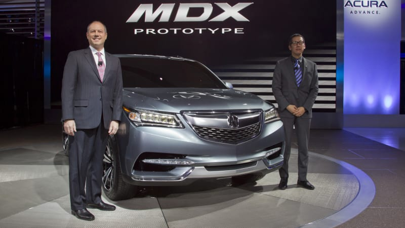 Acura replaces chief Accavitti with designer Ikeda