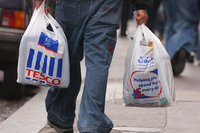 Tesco to scrap 5p bags at stores in Aberdeen and Dundee