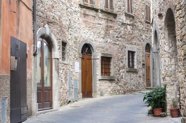 Streets of Radda in Chianti, Tuscany, Italy