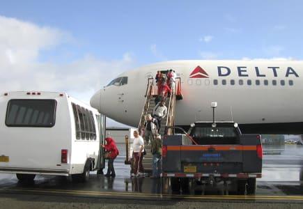 Delta Landing Alaska