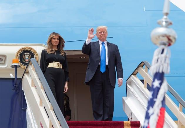 Usa, visita Trump a Riad: Melania e Ivanka senza velo
