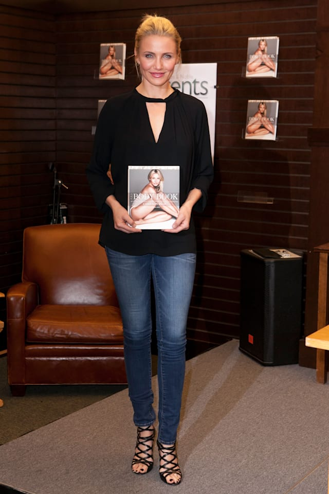 Cameron Diaz Book Signing For