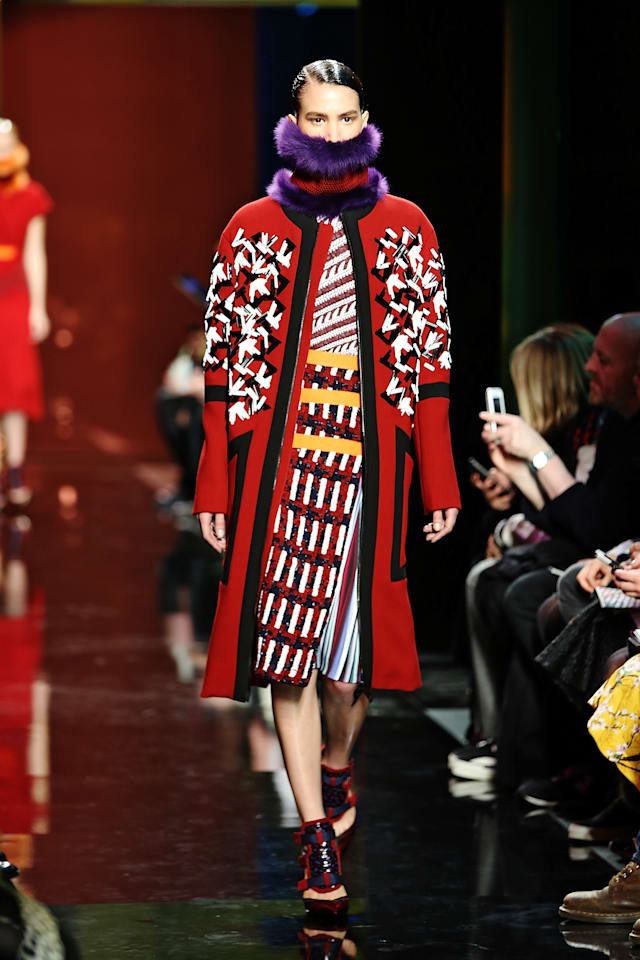 Peter Pilotto: Runway - London Fashion Week AW14
