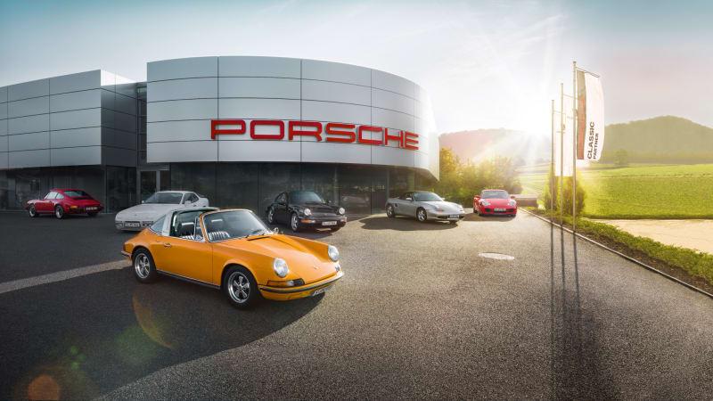 Porsche opening network of dedicated Classics centers