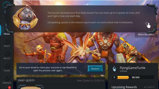 Fates Forever Screenshot