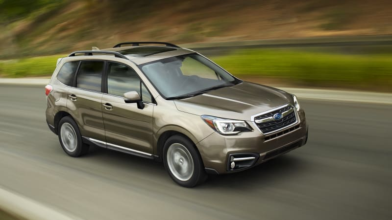 2017 subaru forester unveiled comes with more tech and. Black Bedroom Furniture Sets. Home Design Ideas