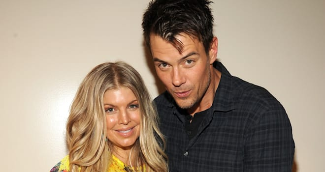 Fergie and Josh Duhamel at the 2013 Kids' Choice Awards