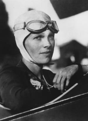 AMELIA EARHART (Amelia Earhart, the first woman to fly solo across the Atlantic Ocean, is seen in this undated photo.  (AP Photo