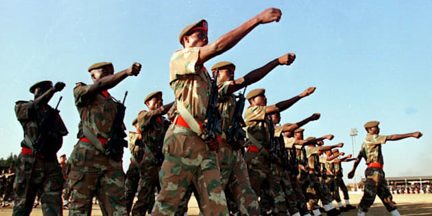 Over 400 soldiers for Zuma state of the nation address