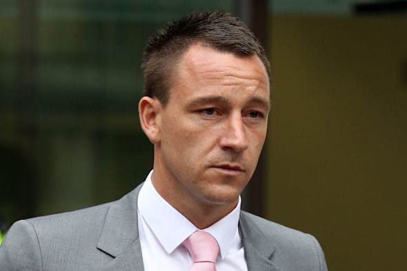 John Terry race charge