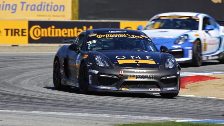 CJ Wilson Racing Porsche Cayman GT4 Clubsports