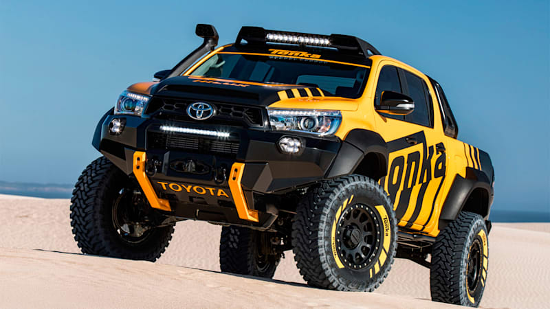 Toyota Hilux Tonka Concept is the toy you've always dreamed of driving