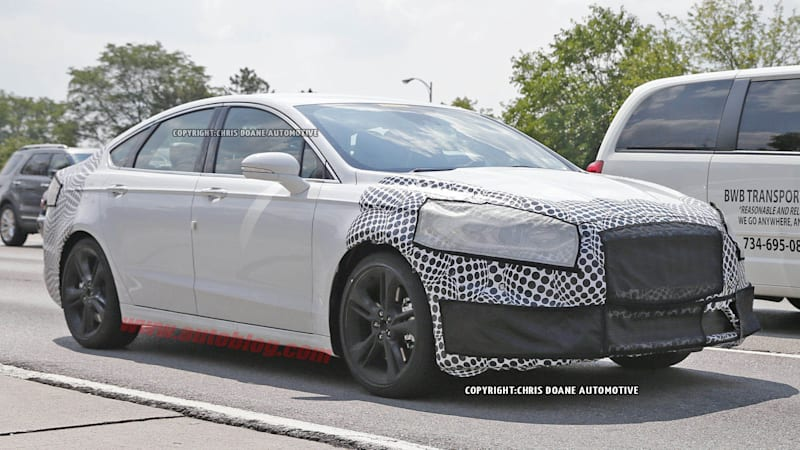 Ford Fusion spied in souped-up ST trim