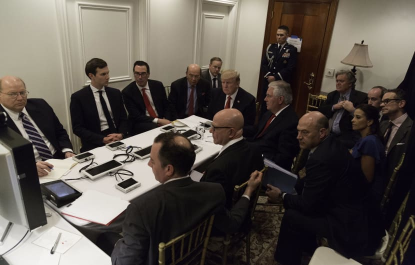 Rätsel um Trumps mysteriöse Hightech im Situation Room