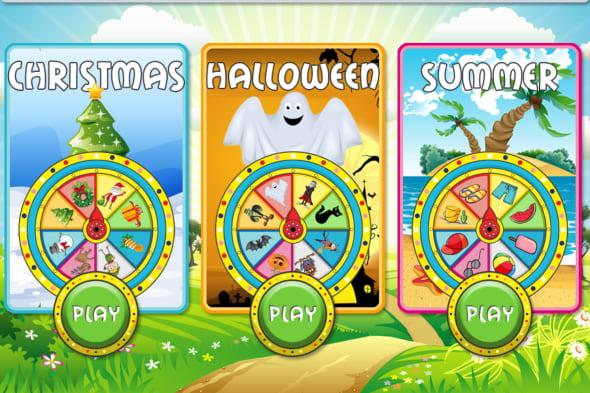Talking Holidays Wheel screenshots