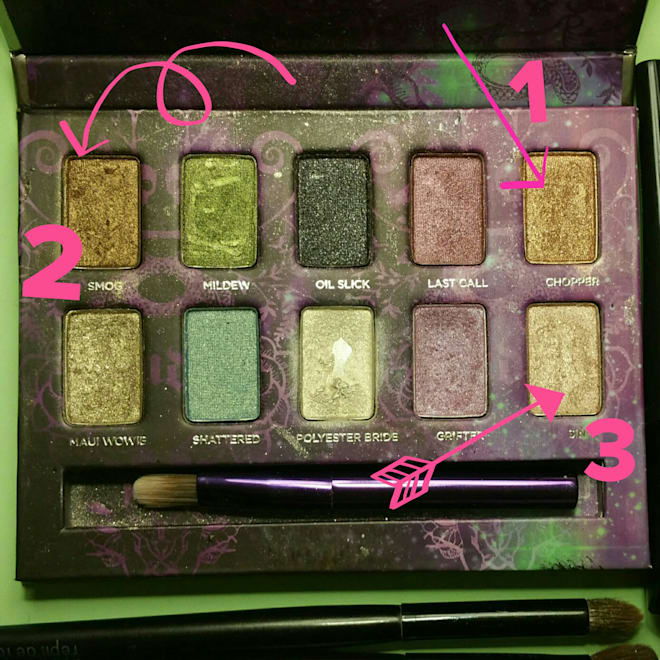 urban decay ammo pallet