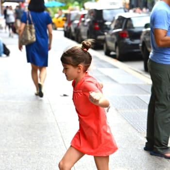 Celebrity Sightings In New York City - July 27, 2013