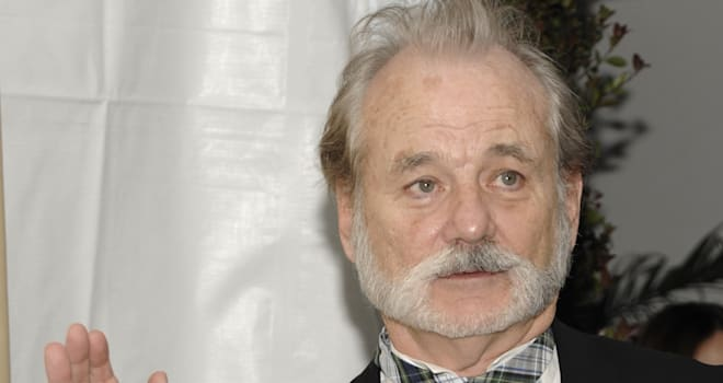 The Weinstein Company Golden Globe After Party (Bill Murray arrives at the Weinstein Company Golden Globe After Party at the Bev