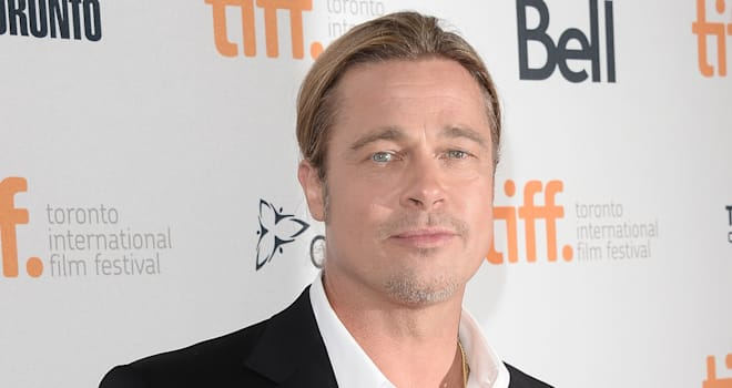 Brad Pitt at the '12 Years a Slave' Premiere at the 2013 Toronto International Film Festival