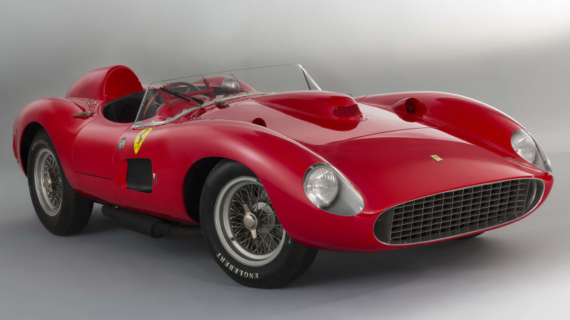 Classic Ferraris fight currency rates for bragging rights