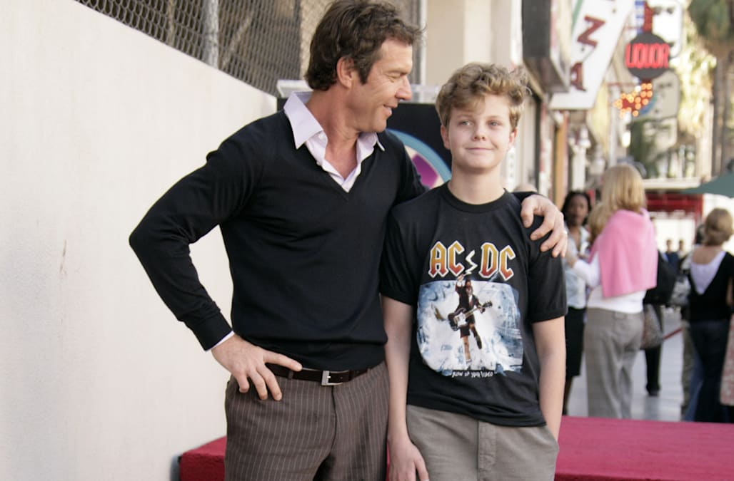 Dennis Quaid Honored with a Star on the Hollywood Walk of Fame for His Achievements in Film