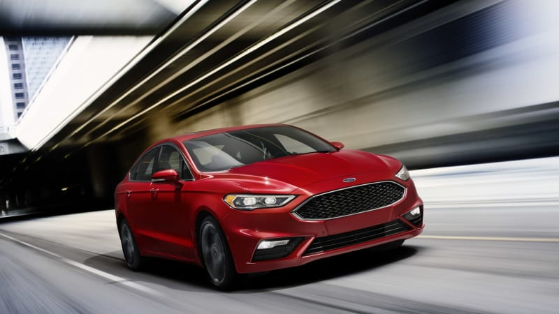 2017 Ford Fusion Sport earns its badge with 380 lb-ft of torque