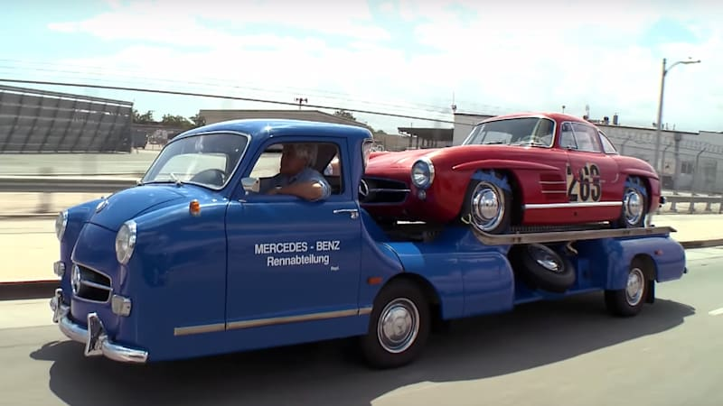 Jay Leno's Mercedes race transporter might be the coolest ...