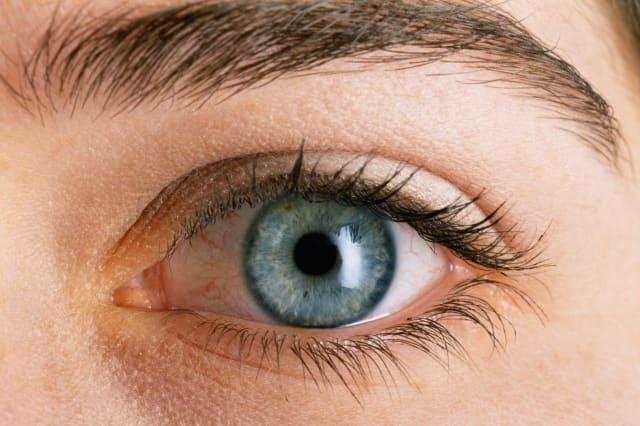 Eye of a woman
