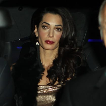 Get Amal's sparkly second wedding look for less: Perfect for holiday parties!