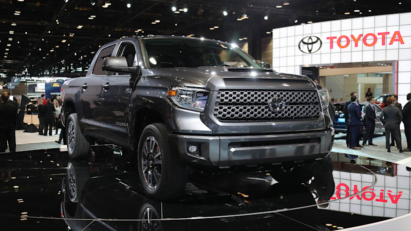 Toyota doubles down on truck-tough image with TRD models