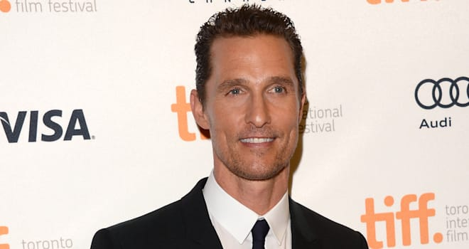 Matthew McConaughey at the 'Dallas Buyers Club' Premiere at the 2013 Toronto International Film Festival