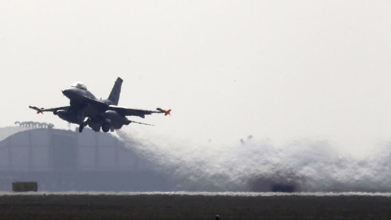 The US Air Force will bake its jets to kill corrosion-causing microorganisms