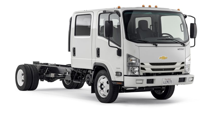 Gm and isuzu to partner for medium duty commercial truck autoblog General motors medium duty trucks