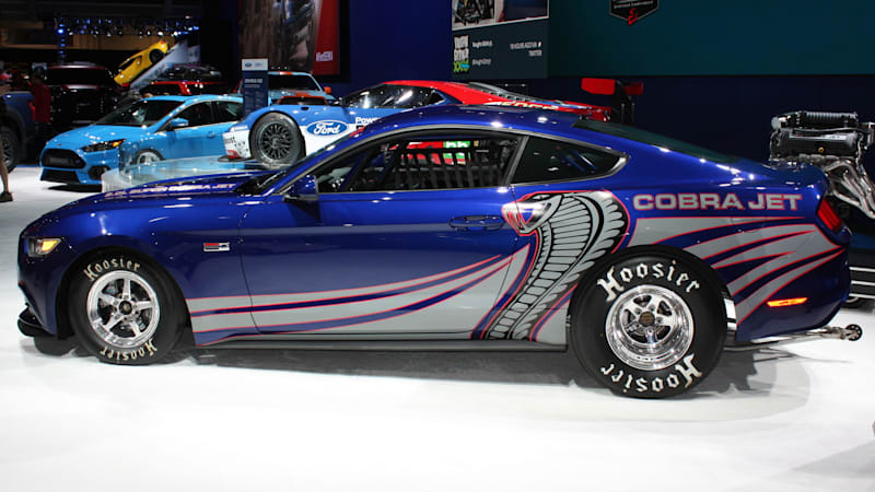 Ford Cobra Jet Mustang blasts into SEMA [w/video]