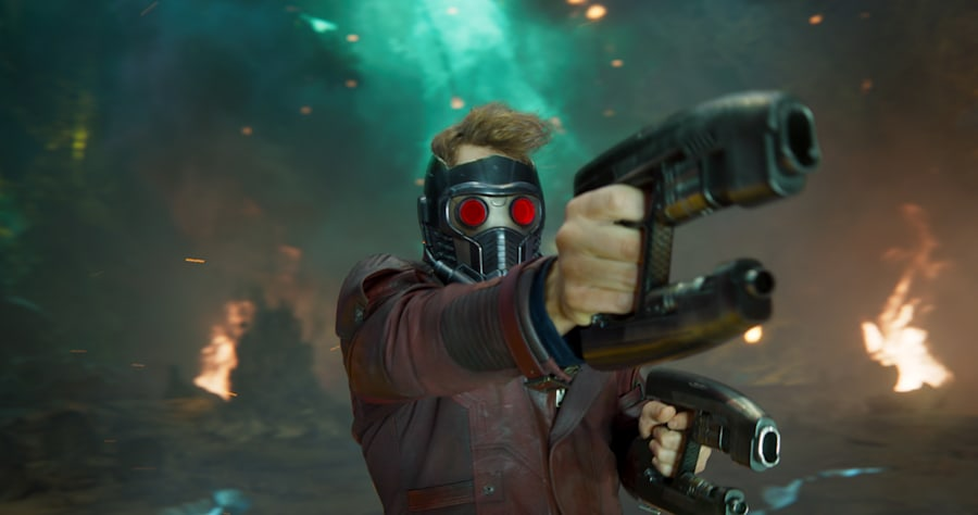 Guardians Of The Galaxy Vol. 2..Star-Lord/Peter Quill (Chris Pratt)..Ph: Film Frame..©Marvel Studios 2017