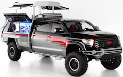 Toyota unveils its SEMA 2013 lineup.