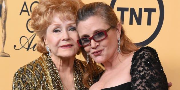 Realizan funerales de Carrie Fisher y Debbie Reynolds