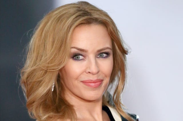 The Voice judge Kylie Minogue