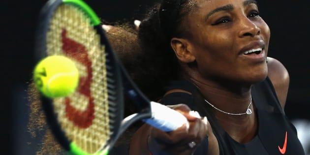 Serena Williams posts photo on Snapchat announcing she is 20 weeks pregnant