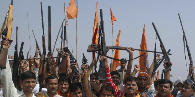 Agra: Policeman injured after suspected Bajrang Dal members attack police station