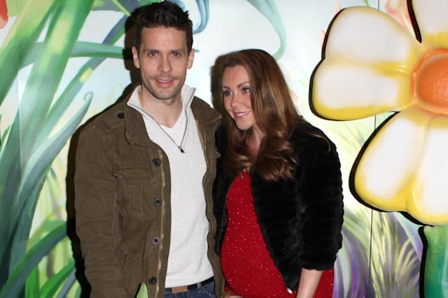 Michelle Heaton and Hugh Hanley expect son to be born soon - before scheduled Caesarean
