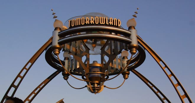 star wars disneyland tomorrowland